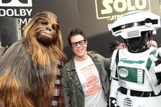 """Johnny Knoxville attends the world premiere of """"Solo: A Star Wars Story"""" in Hollywood on May 10, 2018. (Photo: Alex J. Berliner/ABImages)"""