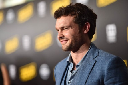 HOLLYWOOD, CA - MAY 10: Actor Alden Ehrenreich attends the world premiere of ìSolo: A Star Wars Storyî in Hollywood on May 10, 2018. (Photo by Alberto E. Rodriguez/Getty Images for Disney) *** Local Caption *** Alden Ehrenreich