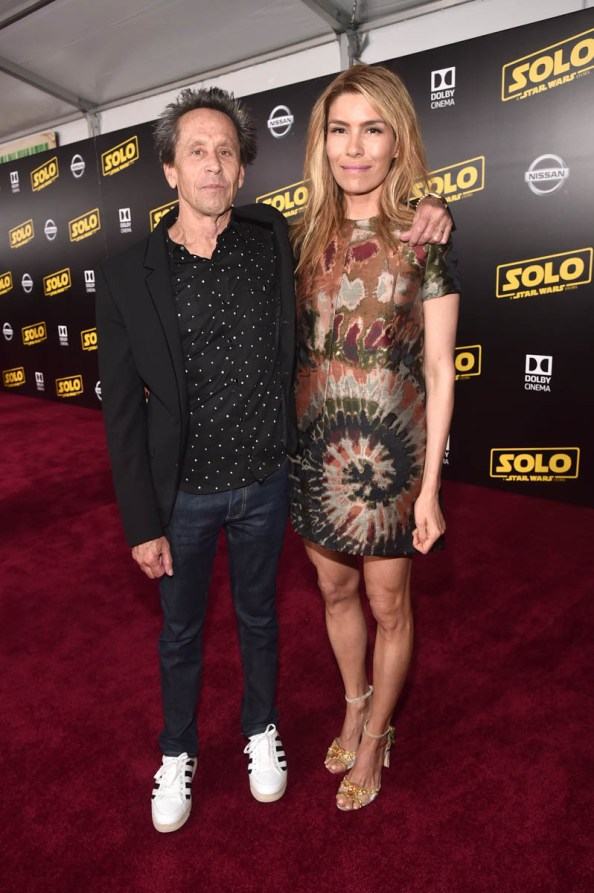 HOLLYWOOD, CA - MAY 10: Producer Brian Grazer (L) and Veronica Smiley attend the world premiere of ìSolo: A Star Wars Storyî in Hollywood on May 10, 2018. (Photo by Alberto E. Rodriguez/Getty Images for Disney) *** Local Caption *** Veronica Smiley; Brian Grazer