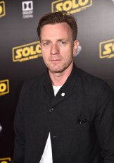 HOLLYWOOD, CA - MAY 10: Ewan McGregor attends the world premiere of ìSolo: A Star Wars Storyî in Hollywood on May 10, 2018. (Photo by Alberto E. Rodriguez/Getty Images for Disney) *** Local Caption *** Ewan McGregor