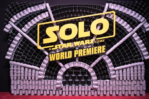 HOLLYWOOD, CA - MAY 10: View of atmosphere at the world premiere of ìSolo: A Star Wars Storyî in Hollywood on May 10, 2018. (Photo by Charley Gallay/Getty Images for Disney)