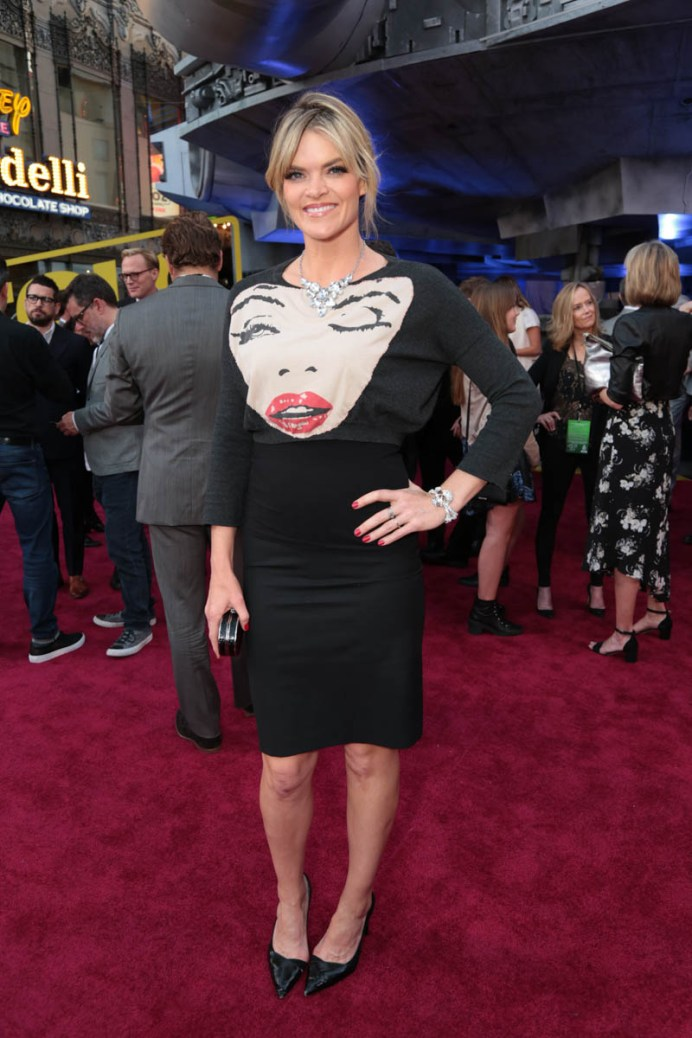 """Missi Pyle attends the world premiere of """"Solo: A Star Wars Story"""" in Hollywood on May 10, 2018. (Photo: Alex J. Berliner/ABImages)"""