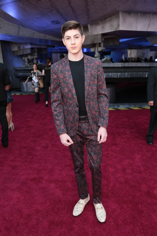 "Mason Cook attends the world premiere of ""Solo: A Star Wars Story"" in Hollywood on May 10, 2018. (Photo: Alex J. Berliner/ABImages)"