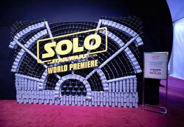HOLLYWOOD, CA - MAY 10: View of atmosphere at the world premiere of ìSolo: A Star Wars Storyî in Hollywood on May 10, 2018. (Photo by Alberto E. Rodriguez/Getty Images for Disney)