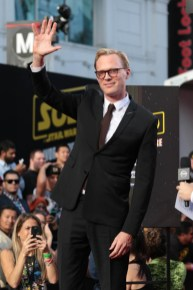 """Paul Bettany attends the world premiere of """"Solo: A Star Wars Story"""" in Hollywood on May 10, 2018. (Photo: Alex J. Berliner/ABImages)"""
