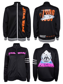 Complementary Track-Style Jackets