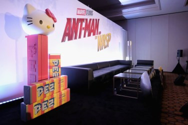 "LOS ANGELES, CA - JUNE 24: A general view of atmosphere at Marvel Studios' ""Ant-Man And The Wasp"" Global Junket Press Conference on June 24, 2018 in Los Angeles, United States. (Photo by Alberto E. Rodriguez/Getty Images for Disney)"