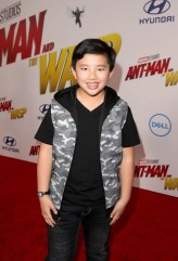 """HOLLYWOOD, CA - JUNE 25: Albert Tsai attends the Los Angeles Global Premiere for Marvel Studios' """"Ant-Man And The Wasp"""" at the El Capitan Theatre on June 25, 2018 in Hollywood, California. (Photo by Jesse Grant/Getty Images for Disney) *** Local Caption *** Albert Tsai"""