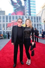 """HOLLYWOOD, CA - JUNE 25: Frankie Valli (L) and Jacqueline Jacobs attend the Los Angeles Global Premiere for Marvel Studios' """"Ant-Man And The Wasp"""" at the El Capitan Theatre on June 25, 2018 in Hollywood, California. (Photo by Alberto E. Rodriguez/Getty Images for Disney) *** Local Caption *** Frankie Valli; Jacqueline Jacobs"""