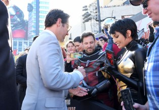 "HOLLYWOOD, CA - JUNE 25: Actor Paul Rudd attends the Los Angeles Global Premiere for Marvel Studios' ""Ant-Man And The Wasp"" at the El Capitan Theatre on June 25, 2018 in Hollywood, California. (Photo by Charley Gallay/Getty Images for Disney) *** Local Caption *** Paul Rudd"