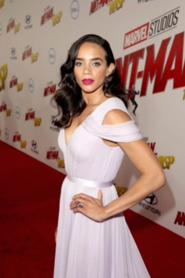 "HOLLYWOOD, CA - JUNE 25: Actor Hannah John-Kamen attends the Los Angeles Global Premiere for Marvel Studios' ""Ant-Man And The Wasp"" at the El Capitan Theatre on June 25, 2018 in Hollywood, California. (Photo by Jesse Grant/Getty Images for Disney) *** Local Caption *** Hannah John-Kamen"