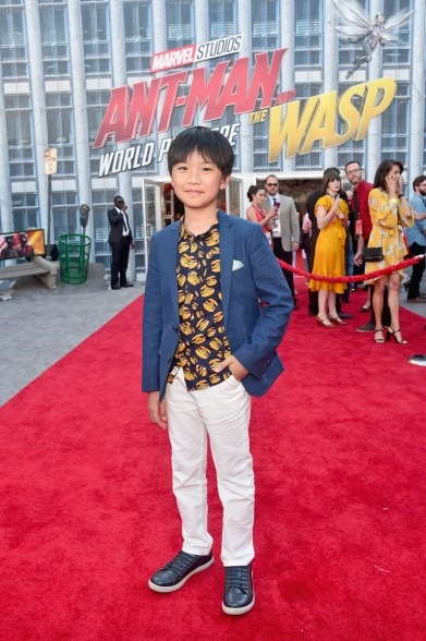 """HOLLYWOOD, CA - JUNE 25: Ian Chen attends the Los Angeles Global Premiere for Marvel Studios' """"Ant-Man And The Wasp"""" at the El Capitan Theatre on June 25, 2018 in Hollywood, California. (Photo by Alberto E. Rodriguez/Getty Images for Disney) *** Local Caption *** Ian Chen"""