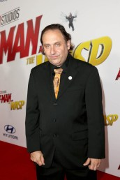 "HOLLYWOOD, CA - JUNE 25: Gregg Turkington attends the Los Angeles Global Premiere for Marvel Studios' ""Ant-Man And The Wasp"" at the El Capitan Theatre on June 25, 2018 in Hollywood, California. (Photo by Jesse Grant/Getty Images for Disney) *** Local Caption *** Gregg Turkington"