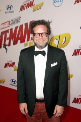 "HOLLYWOOD, CA - JUNE 25: Composer Christophe Beck attends the Los Angeles Global Premiere for Marvel Studios' ""Ant-Man And The Wasp"" at the El Capitan Theatre on June 25, 2018 in Hollywood, California. (Photo by Jesse Grant/Getty Images for Disney) *** Local Caption *** Christophe Beck"