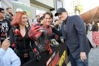 "HOLLYWOOD, CA - JUNE 25: Producer Kevin Feige attends the Los Angeles Global Premiere for Marvel Studios' ""Ant-Man And The Wasp"" at the El Capitan Theatre on June 25, 2018 in Hollywood, California. (Photo by Charley Gallay/Getty Images for Disney) *** Local Caption *** Kevin Feige"