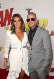 """HOLLYWOOD, CA - JUNE 25: Zarah DeSilva (L) and Collie Buddz attend the Los Angeles Global Premiere for Marvel Studios' """"Ant-Man And The Wasp"""" at the El Capitan Theatre on June 25, 2018 in Hollywood, California. (Photo by Jesse Grant/Getty Images for Disney) *** Local Caption *** Collie Buddz; Zarah DeSilva"""