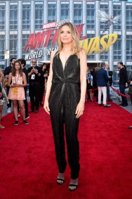 """HOLLYWOOD, CA - JUNE 25: Actor Michelle Pfeiffer attends the Los Angeles Global Premiere for Marvel Studios' """"Ant-Man And The Wasp"""" at the El Capitan Theatre on June 25, 2018 in Hollywood, California. (Photo by Alberto E. Rodriguez/Getty Images for Disney) *** Local Caption *** Michelle Pfeiffer"""