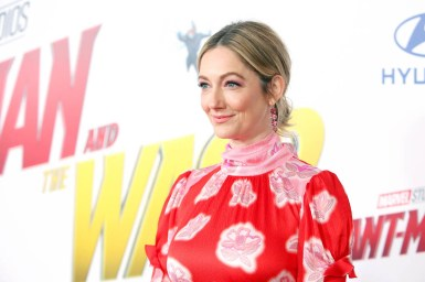 "HOLLYWOOD, CA - JUNE 25: Actor Judy Greer attends the Los Angeles Global Premiere for Marvel Studios' ""Ant-Man And The Wasp"" at the El Capitan Theatre on June 25, 2018 in Hollywood, California. (Photo by Jesse Grant/Getty Images for Disney) *** Local Caption *** Judy Greer"