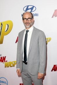 """HOLLYWOOD, CA - JUNE 25: Brian Huskey attends the Los Angeles Global Premiere for Marvel Studios' """"Ant-Man And The Wasp"""" at the El Capitan Theatre on June 25, 2018 in Hollywood, California. (Photo by Jesse Grant/Getty Images for Disney) *** Local Caption *** Brian Huskey"""