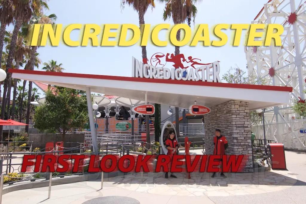Incredicoaster Brings Incredibles to Disney California Adventure in an Exciting Way