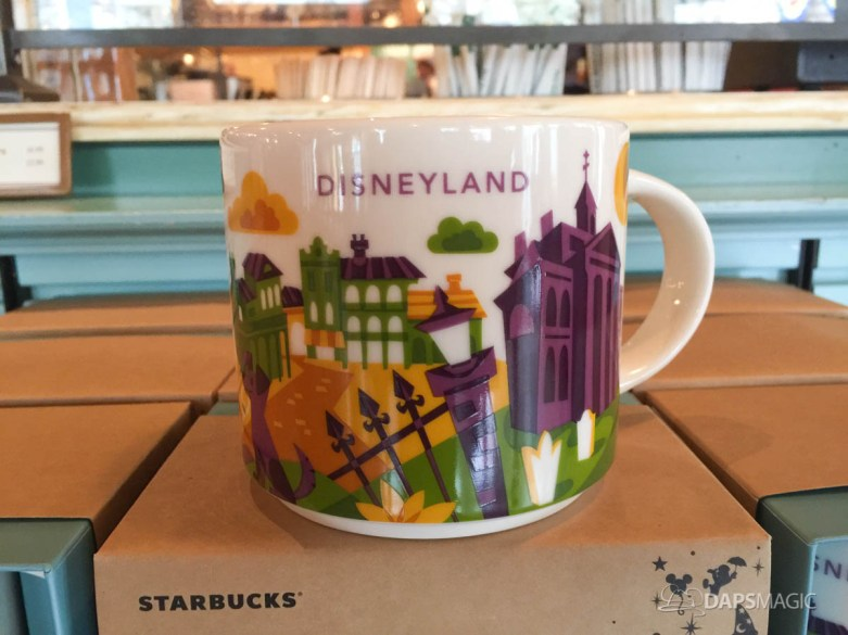 New Orleans Square Themed You Are Here Mugs at Market House Starbucks at Disneyland
