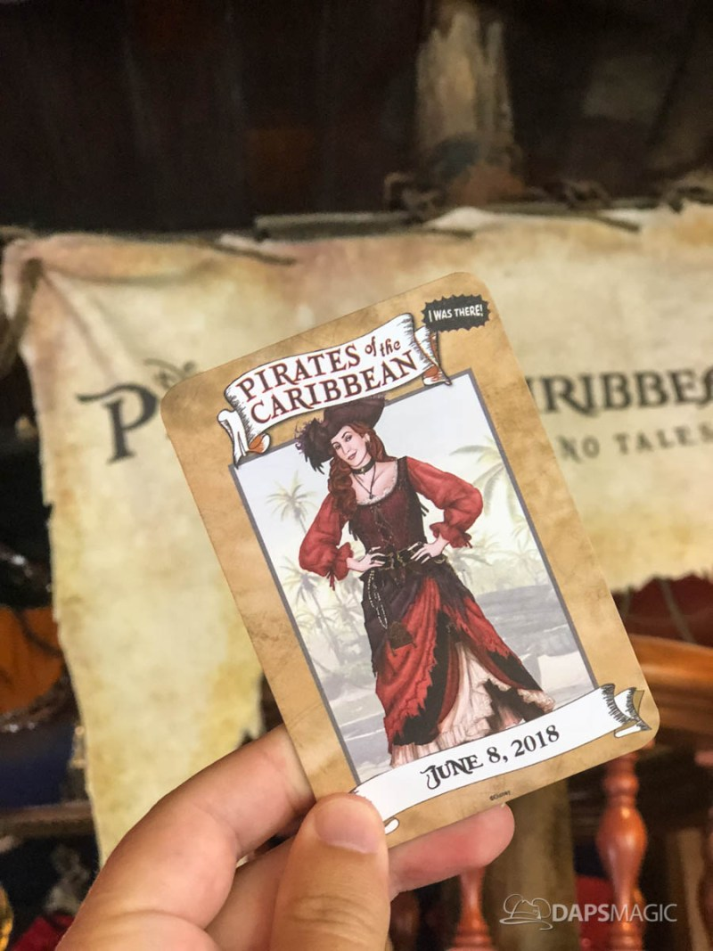Pirates of the Caribbean Name Card-1