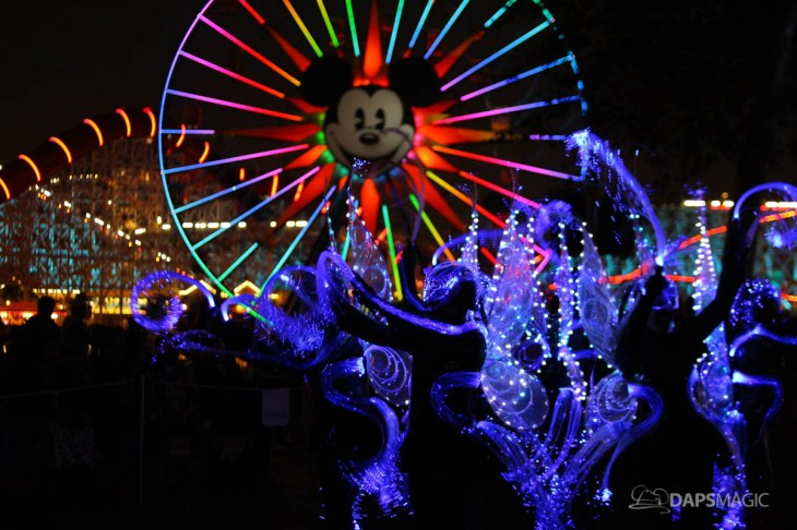 Pixar Pier Media Event - Paint the Night with Incredibles Float-1