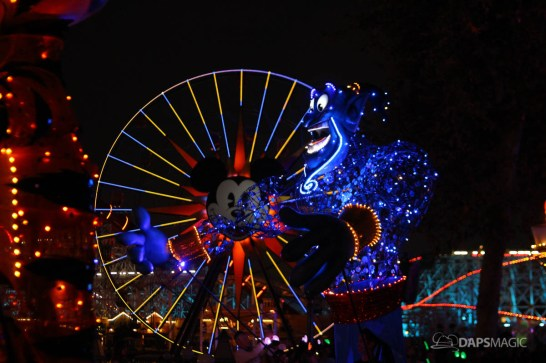 Pixar Pier Media Event - Paint the Night with Incredibles Float-10