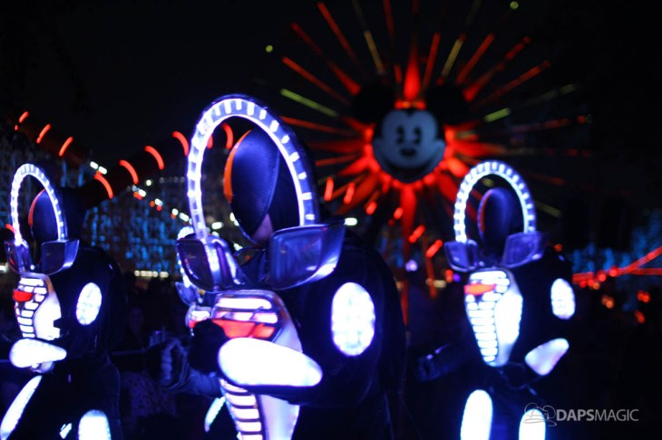 Pixar Pier Media Event - Paint the Night with Incredibles Float-20