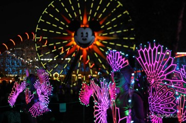 Pixar Pier Media Event - Paint the Night with Incredibles Float-25