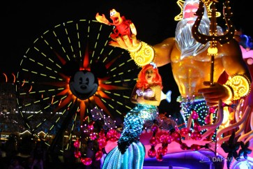 Pixar Pier Media Event - Paint the Night with Incredibles Float-27