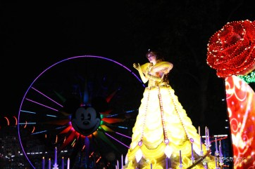 Pixar Pier Media Event - Paint the Night with Incredibles Float-36