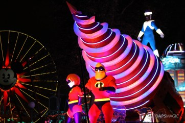 Pixar Pier Media Event - Paint the Night with Incredibles Float-50