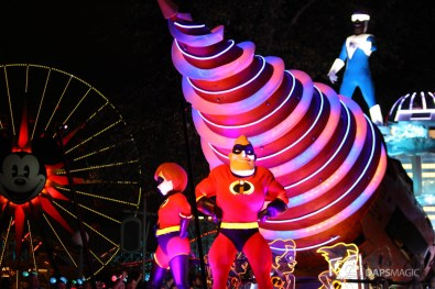 Pixar Pier Media Event - Paint the Night with Incredibles Float-51