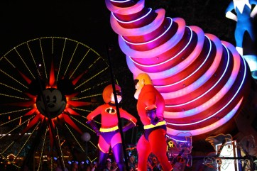 Pixar Pier Media Event - Paint the Night with Incredibles Float-52