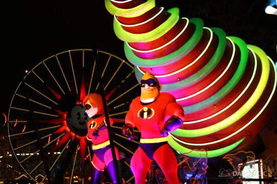Pixar Pier Media Event - Paint the Night with Incredibles Float-54