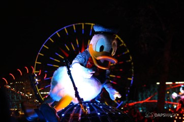 Pixar Pier Media Event - Paint the Night with Incredibles Float-72