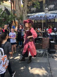 Redd the Pirate in New Orleans Square at Disneyland-10