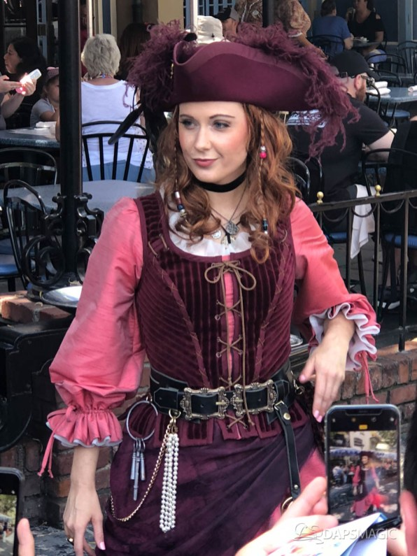 Redd the Pirate in New Orleans Square at Disneyland-6