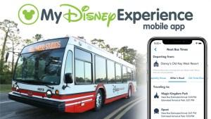 My Disney Experience App Adds Bus Wait Times