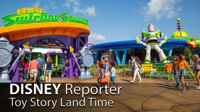 Toy Story Land Time - DISNEY Reporter