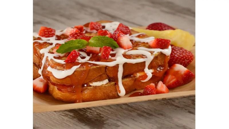 Geek Eats Disney Recipe: Cream Cheese and Guava-stuffed French Toast