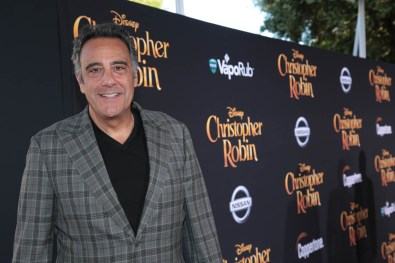 "Brad Garrett attends the world premiere of Disney's ""Christopher Robin"" at the Main Theater on the Walt Disney Studios lot in Burbank, CA on July 30, 2018. (Photo: Alex J. Berliner/ABImages)"