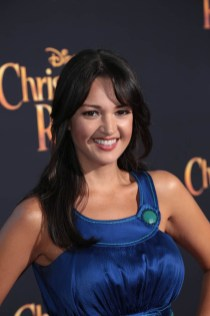 """Paula Garces attends the world premiere of Disney's """"Christopher Robin"""" at the Main Theater on the Walt Disney Studios lot in Burbank, CA on July 30, 2018. (Photo: Alex J. Berliner/ABImages)"""