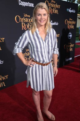 """Alison Sweeney attends the world premiere of Disney's """"Christopher Robin"""" at the Main Theater on the Walt Disney Studios lot in Burbank, CA on July 30, 2018. (Photo: Alex J. Berliner/ABImages)"""