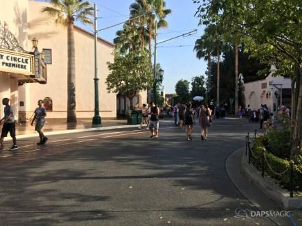 Hot Day at Disney California Adventure