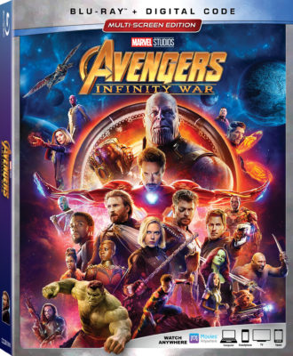 Avengers: Infinity War Box Art