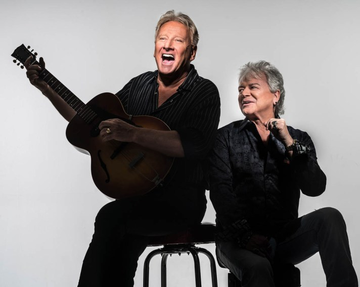 "Air Supply (""All Out of Love"") will perform Oct. 8-10 at America Gardens Theatre at 5:30, 6:45 and 8 p.m. during the 23rd Epcot International Food & Wine Festival ""Eat to the Beat"" concert series. Performances are included with Epcot admission. (Disney)"
