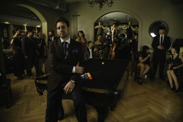 """Postmodern Jukebox (known for vintage-style covers of modern hits) will perform Sept. 10-11 at America Gardens Theatre at 5:30, 6:45 and 8 p.m. during the 23rd Epcot International Food & Wine Festival """"Eat to the Beat"""" concert series. Performances are included with Epcot admission. (Disney)"""