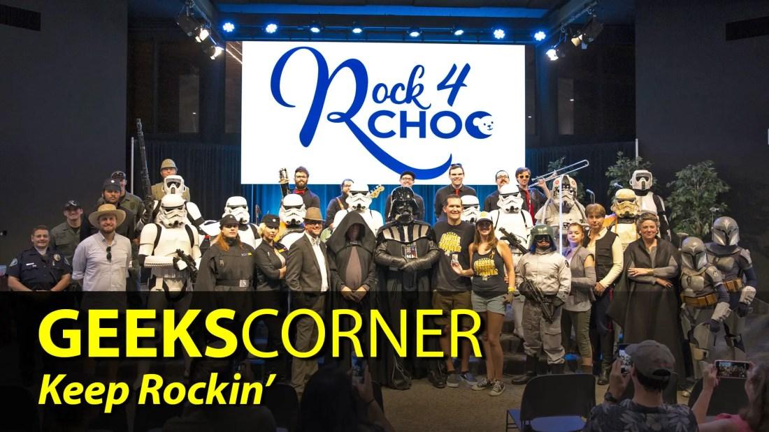 Keep Rockin' - GEEKS CORNER - Episode 845